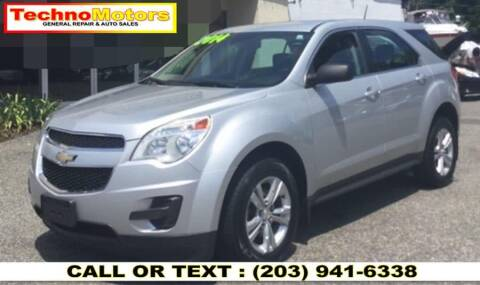 2014 Chevrolet Equinox for sale at Techno Motors in Danbury CT