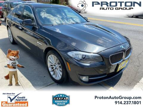 2011 BMW 5 Series for sale at Proton Auto Group in Yonkers NY