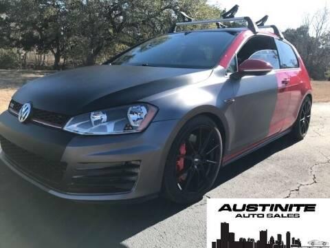 2016 Volkswagen Golf GTI for sale at Austinite Auto Sales in Austin TX