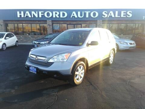 2008 Honda CR-V for sale at Hanford Auto Sales in Hanford CA