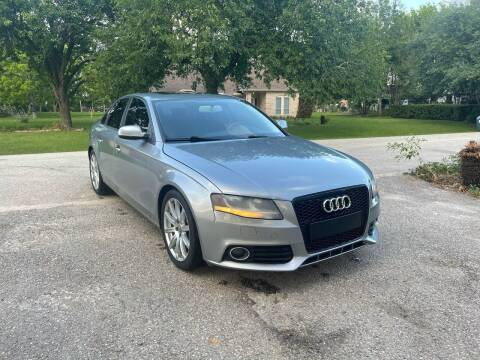 2010 Audi A4 for sale at CARWIN MOTORS in Katy TX