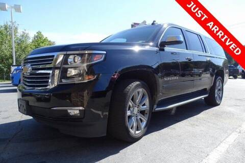 2016 Chevrolet Suburban for sale at Brandon Reeves Auto World in Monroe NC