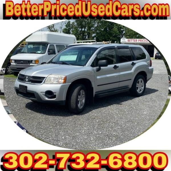 2006 Mitsubishi Endeavor for sale at Better Priced Used Cars in Frankford DE