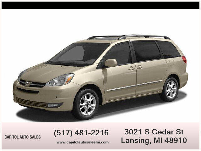 2004 Toyota Sienna for sale at Capitol Auto Sales in Lansing MI