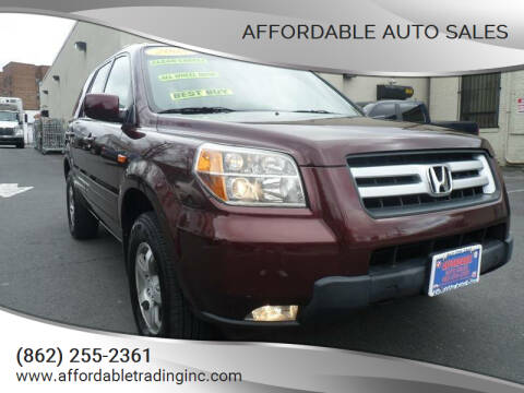 2008 Honda Pilot for sale at Affordable Auto Sales in Irvington NJ
