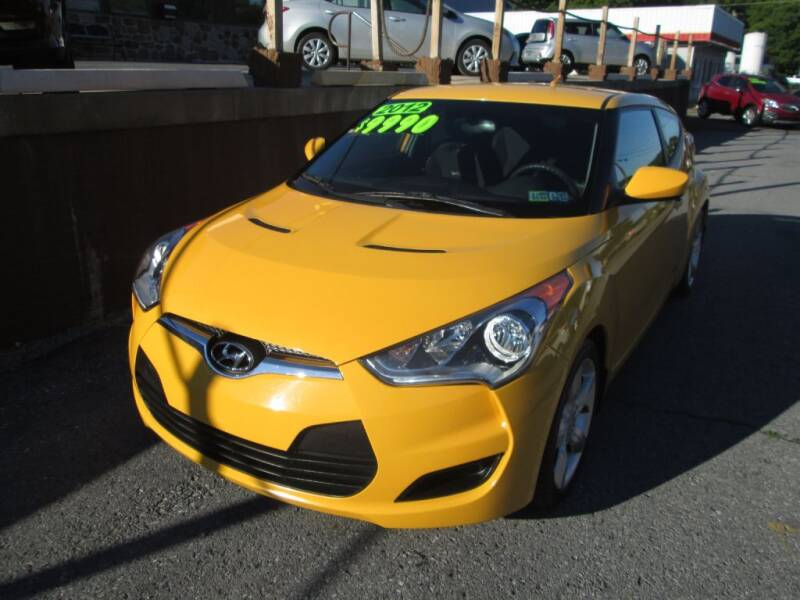 2012 Hyundai Veloster for sale at WORKMAN AUTO INC in Pleasant Gap PA