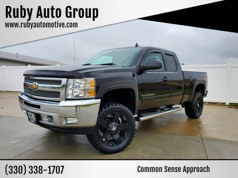 2012 Chevrolet Silverado 1500 for sale at Ruby Auto Group in Hudson OH