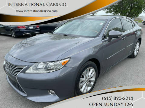 2014 Lexus ES 300h for sale at International Cars Co in Murfreesboro TN
