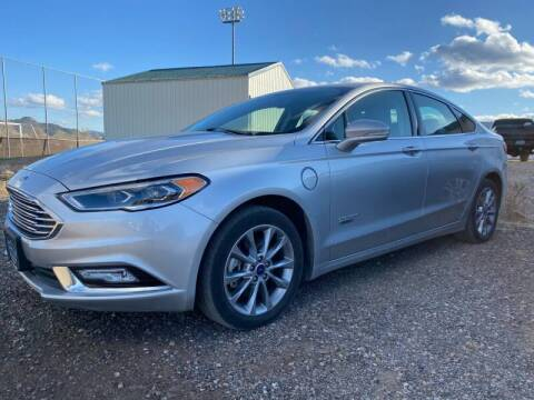 2017 Ford Fusion Energi for sale at FAST LANE AUTOS in Spearfish SD