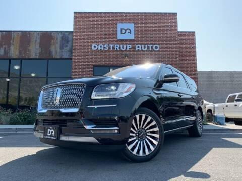 2018 Lincoln Navigator L for sale at Dastrup Auto in Lindon UT