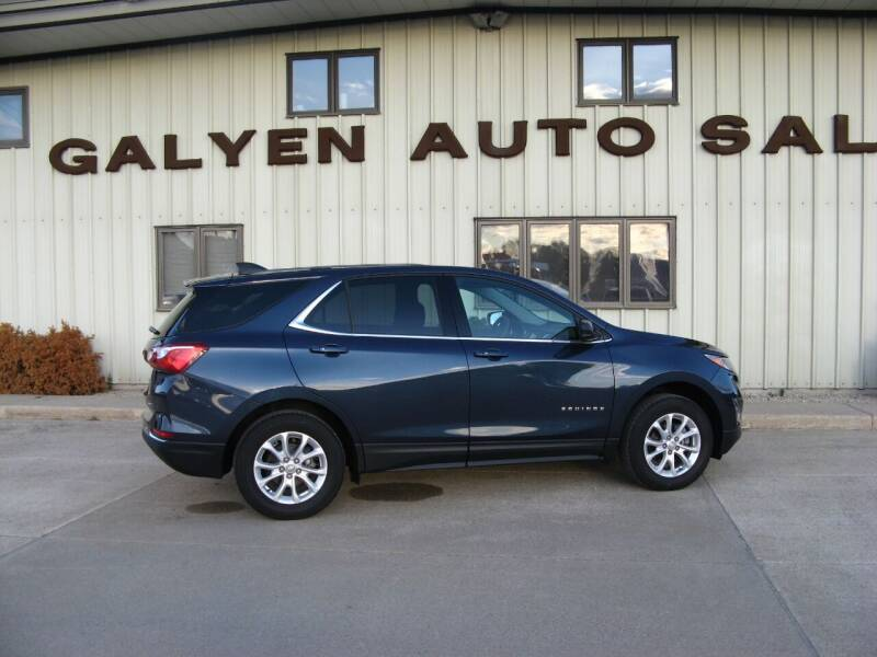 2018 Chevrolet Equinox for sale at Galyen Auto Sales Inc. in Atkinson NE
