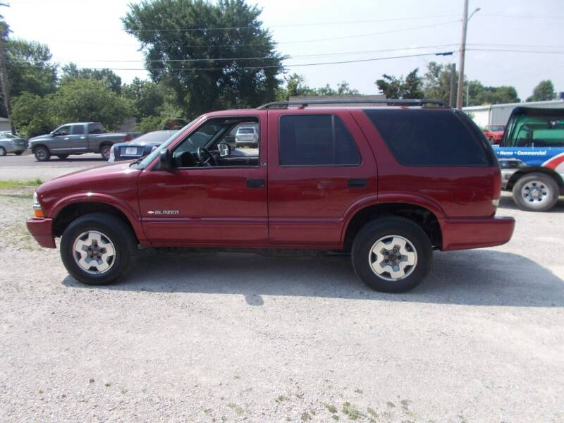 used 2002 chevrolet blazer for sale carsforsale com used 2002 chevrolet blazer for sale
