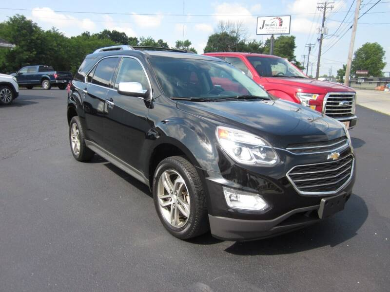 2017 Chevrolet Equinox for sale at JANSEN'S AUTO SALES MIDWEST TOPPERS & ACCESSORIES in Effingham IL