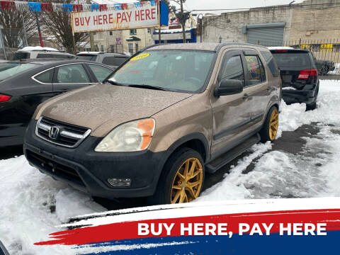 2003 Honda CR-V for sale at Rallye  Motors inc. in Newark NJ