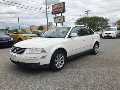 2004 Volkswagen Passat for sale at Autohaus of Greensboro in Greensboro NC