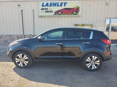 2011 Kia Sportage for sale at Lashley Auto Sales - Scotts Bluff NE in Scottsbluff NE