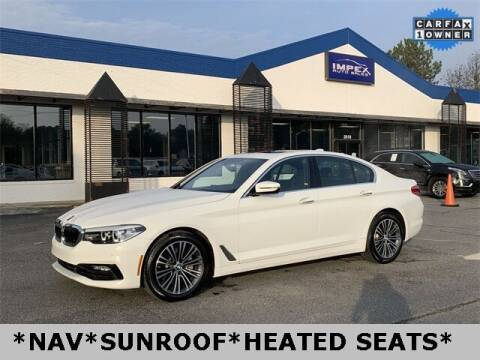 2017 BMW 5 Series for sale at Impex Auto Sales in Greensboro NC