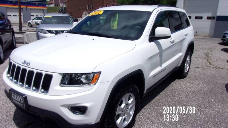2016 Jeep Grand Cherokee for sale at Allen's Pre-Owned Autos in Pennsboro WV
