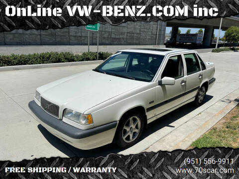1996 Volvo 850 for sale at OnLine VW-BENZ.COM Auto Group in Riverside CA