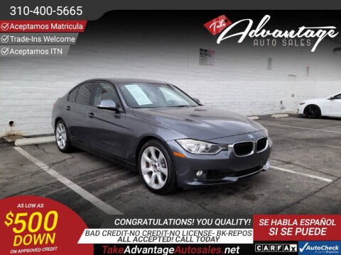 2014 BMW 3 Series for sale at ADVANTAGE AUTO SALES INC in Bell CA