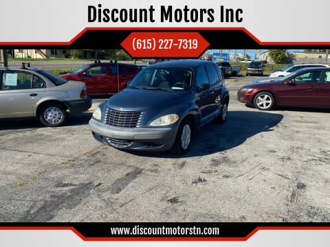 2003 Chrysler PT Cruiser for sale at Discount Motors Inc in Nashville TN