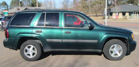 2005 Chevrolet TrailBlazer for sale at The AUTOHAUS LLC in Tomahawk WI