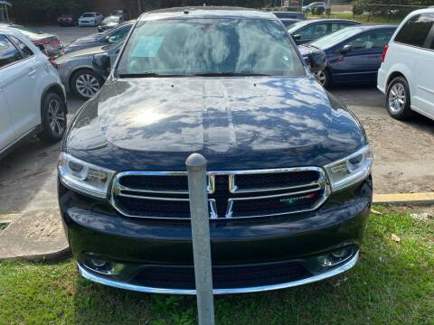 2016 Dodge Durango for sale at J Franklin Auto Sales in Macon GA