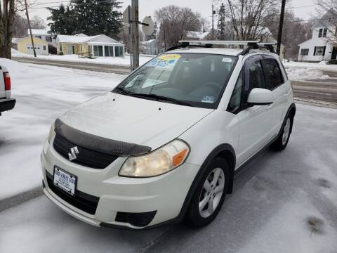 2008 Suzuki SX4 Crossover for sale at York Street Auto in Poultney VT