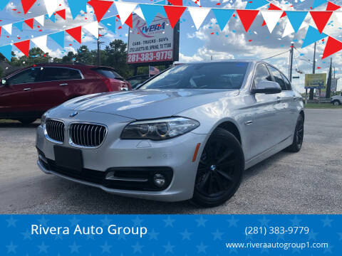 2015 BMW 5 Series for sale at Rivera Auto Group in Spring TX
