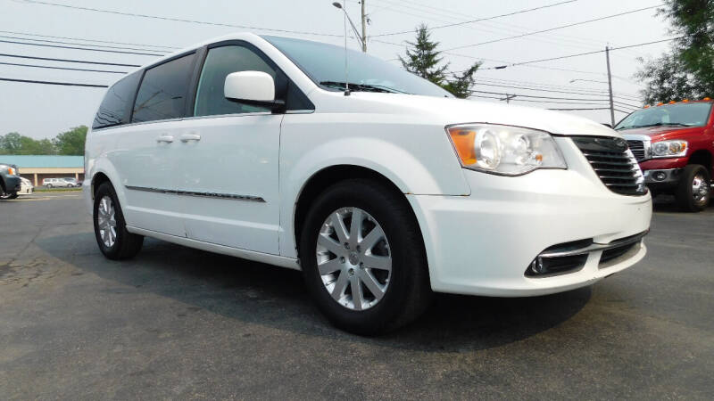 2015 Chrysler Town and Country for sale at Action Automotive Service LLC in Hudson NY
