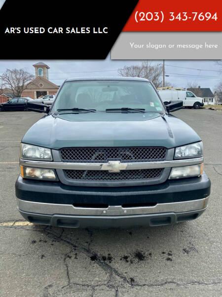 2004 Chevrolet Silverado 2500HD for sale at AR's Used Car Sales LLC in Danbury CT