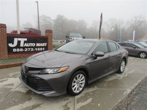 2019 Toyota Camry for sale at J T Auto Group in Sanford NC