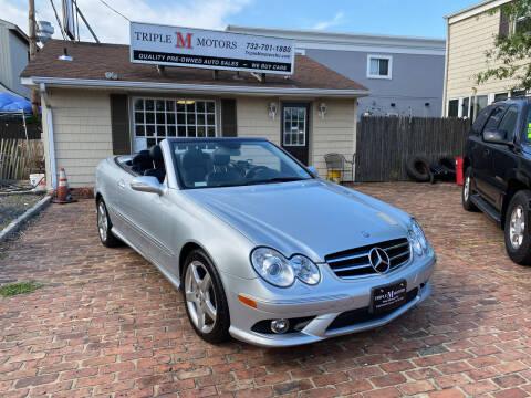 2007 Mercedes-Benz CLK for sale at Triple M Motors in Point Pleasant NJ