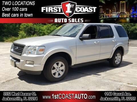 2010 Ford Explorer for sale at 1st Coast Auto -Cassat Avenue in Jacksonville FL