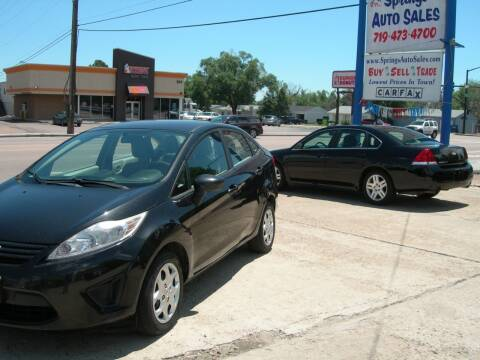 2013 Ford Fiesta for sale at Springs Auto Sales in Colorado Springs CO