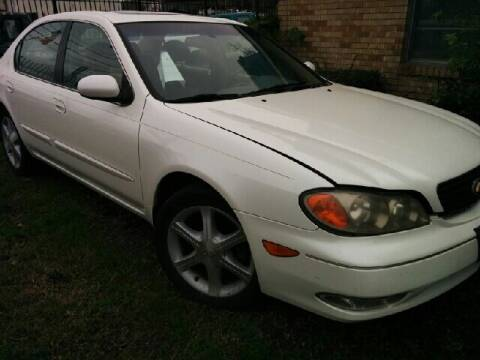 2002 Infiniti I35 for sale at Ody's Autos in Houston TX