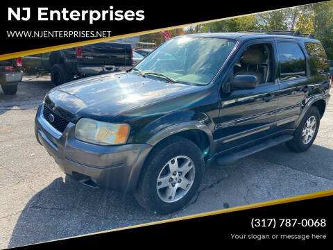 2004 Ford Escape for sale at NJ Enterprises in Indianapolis IN
