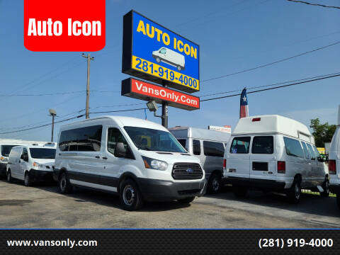 2015 Ford Transit Passenger for sale at Auto Icon in Houston TX