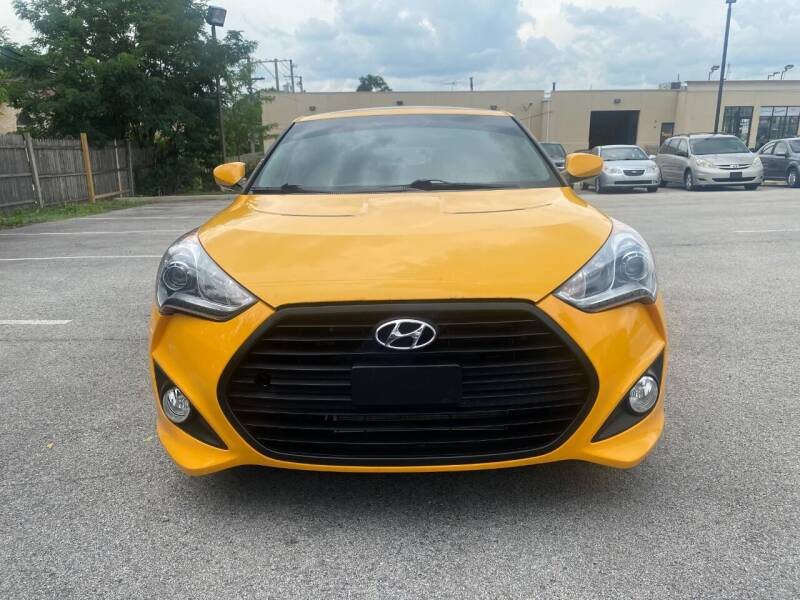 2012 Hyundai Veloster for sale at Platinum Cars Exchange in Downers Grove IL