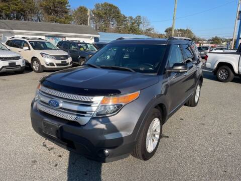 2013 Ford Explorer for sale at U FIRST AUTO SALES LLC in East Wareham MA
