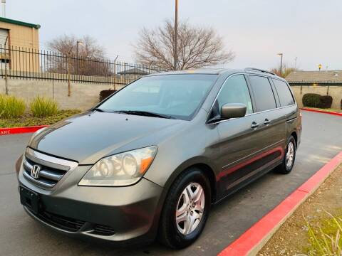 2007 Honda Odyssey for sale at United Star Motors in Sacramento CA