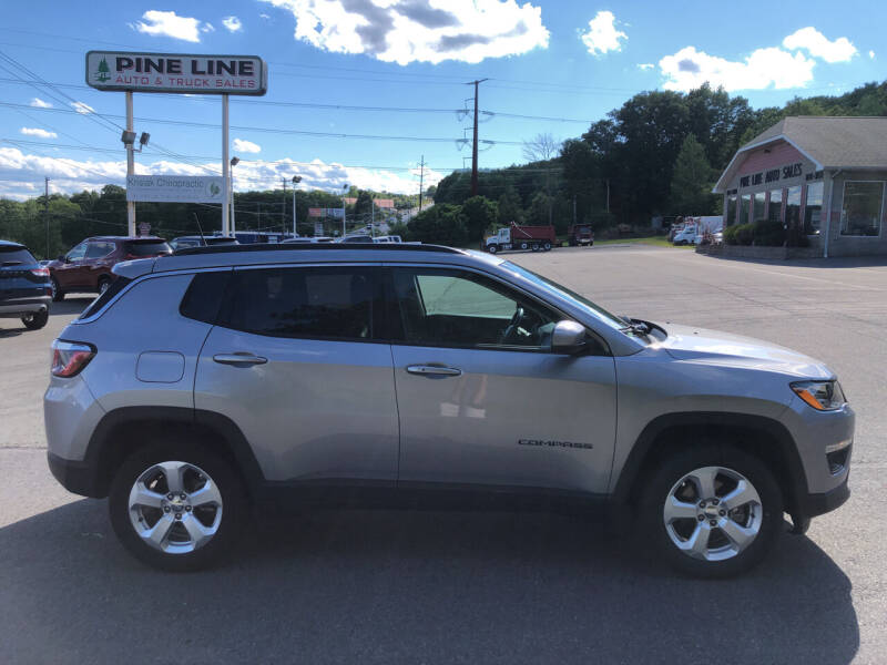 2018 Jeep Compass for sale at Pine Line Auto in Eynon PA