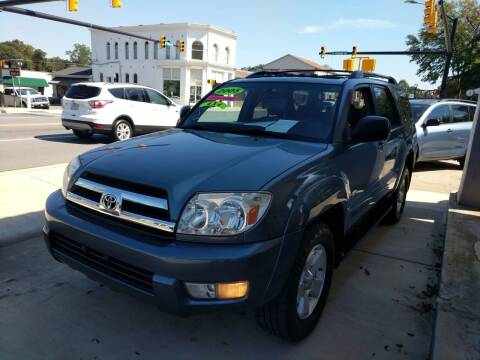 2005 Toyota 4Runner for sale at ROBINSON AUTO BROKERS in Dallas NC
