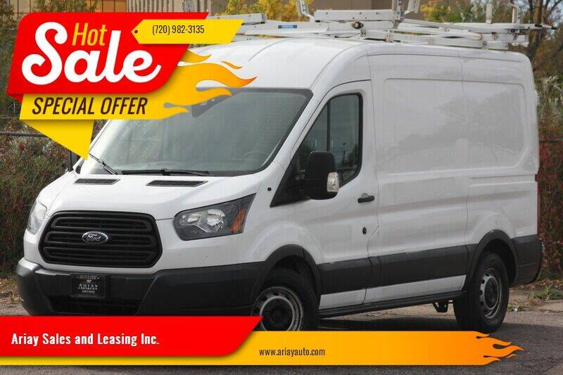 2015 Ford Transit Cargo for sale at Ariay Sales and Leasing Inc. in Denver CO
