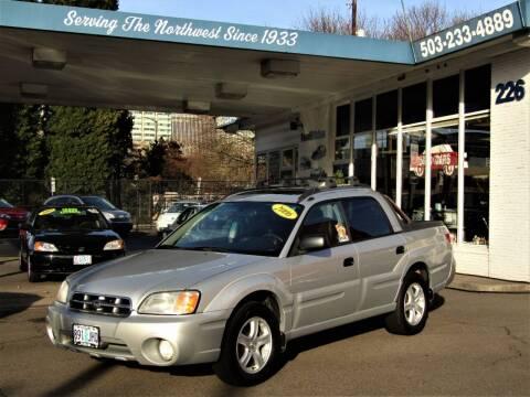 2006 Subaru Baja for sale at Powell Motors Inc in Portland OR