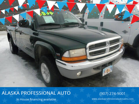 2000 Dodge Dakota for sale at ALASKA PROFESSIONAL AUTO in Anchorage AK