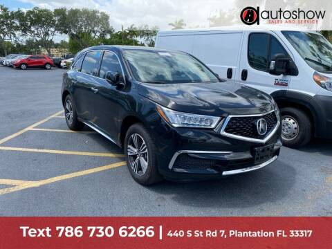 2018 Acura MDX for sale at AUTOSHOW SALES & SERVICE in Plantation FL