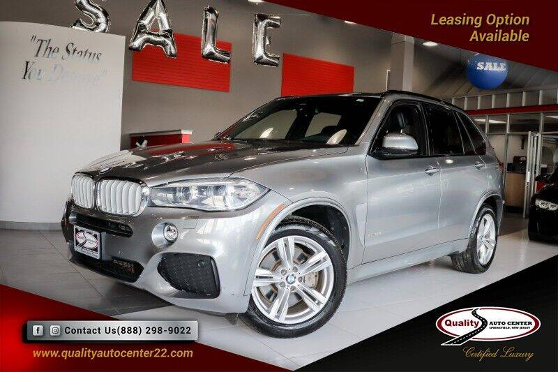 2016 BMW X5 for sale at Quality Auto Center of Springfield in Springfield NJ