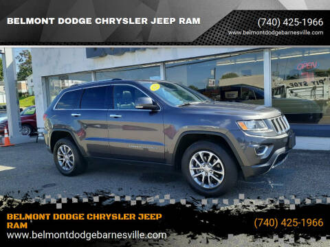 2014 Jeep Grand Cherokee for sale at BELMONT DODGE CHRYSLER JEEP RAM in Barnesville OH