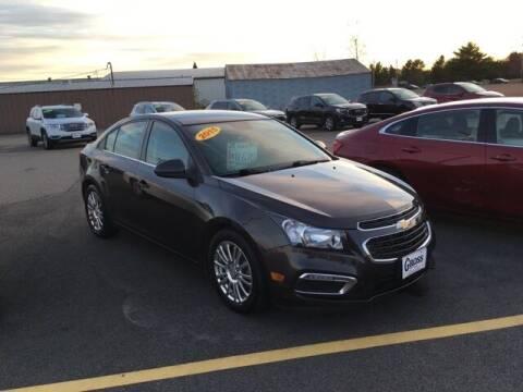 2015 Chevrolet Cruze for sale at Gross Motors of Marshfield in Marshfield WI